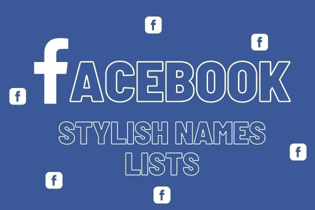 FaceBook Stylish Names Lists
